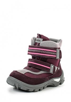 Ботинки Bartek. Цвет: фиолетовый
