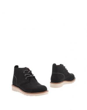 Полусапоги и высокие ботинки DICKIES. Цвет: черный