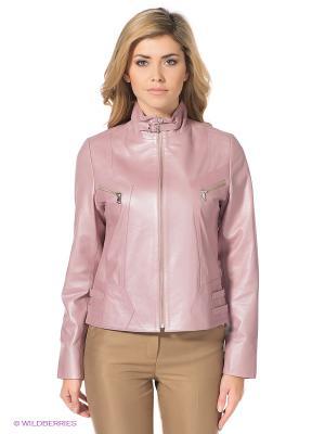 Куртка STEFANO FERRI. Цвет: розовый