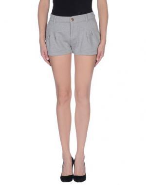 Повседневные шорты PRAIO. Цвет: серый
