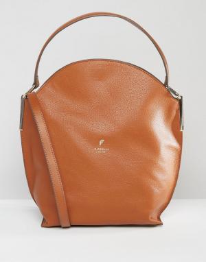 Fiorelli Сумка-хобо через плечо. Цвет: коричневый