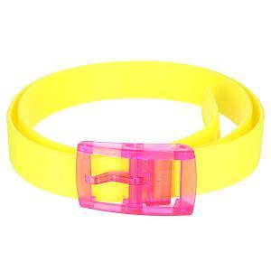 Ремень  Neon Yellow C4. Цвет: желтый