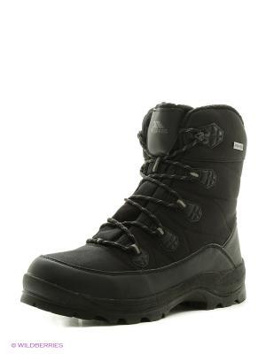 Обувь Trespass. Цвет: черный