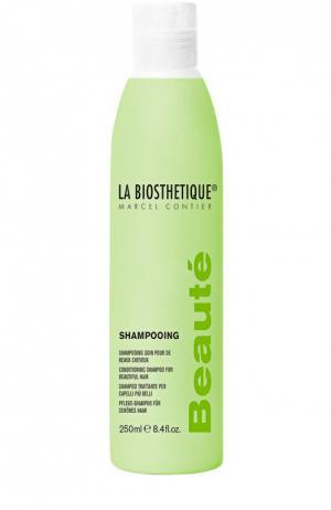 Фруктовый шампунь для всех типов волос Beaute La Biosthetique. Цвет: бесцветный