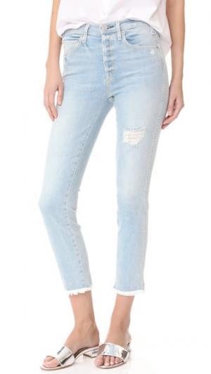Винтажные узкие джинсы с высокой талией McGuire Denim. Цвет: beach slang