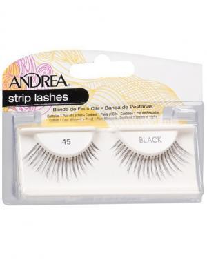 Andrea 24510 Mod Strip Lashes 45 Накладные ресницы Andrea.. Цвет: черный