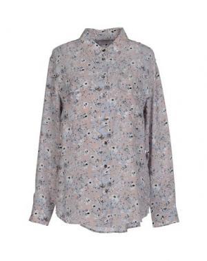 Pубашка EQUIPMENT FEMME. Цвет: голубиный серый