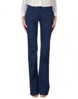 Повседневные брюки MAURIZIO PECORARO. Цвет: синий