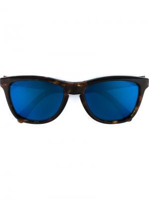 Солнцезащитные очки wayfarer Sophnet.. Цвет: коричневый