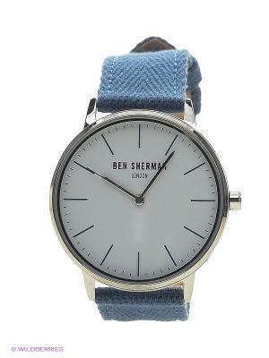 Часы Ben Sherman. Цвет: голубой
