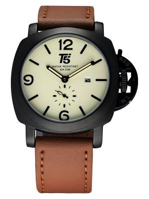 Часы наручные T5. Серия Shmidt T5. Цвет: коричневый