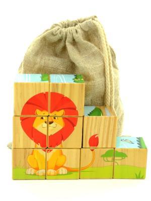 Кубики LUCY&LEO. Цвет: бежевый