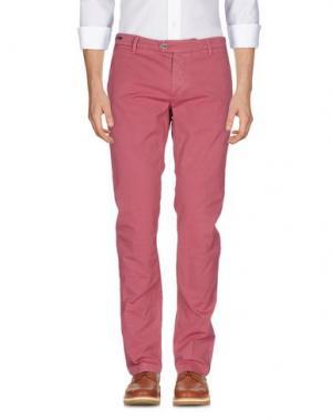 Повседневные брюки TELERIA ZED. Цвет: пастельно-розовый