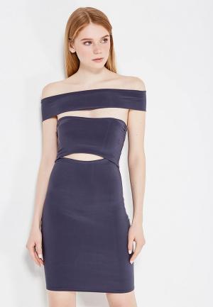 Платье C.H.I.C.. Цвет: серый
