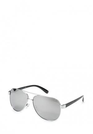 Очки солнцезащитные Visionmania. Цвет: серебряный