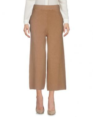 Повседневные брюки MICHELA MII. Цвет: верблюжий