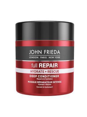 Маска для восстановления и увлажнения волос Full Repair, 150 мл John Frieda. Цвет: белый