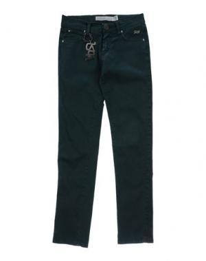 Повседневные брюки ROŸ ROGER'S CHOICE. Цвет: темно-зеленый