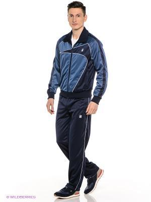 Спортивные костюмы ADDIC. Цвет: темно-синий, синий