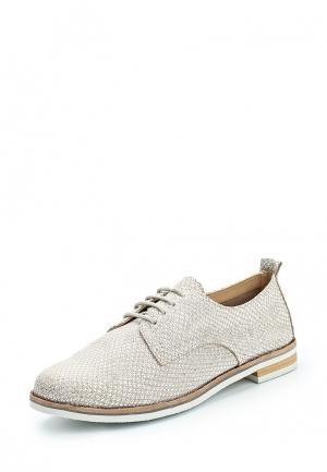 Ботинки Caprice. Цвет: золотой