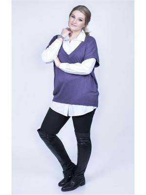Пуловер SPARADA. Цвет: фиолетовый