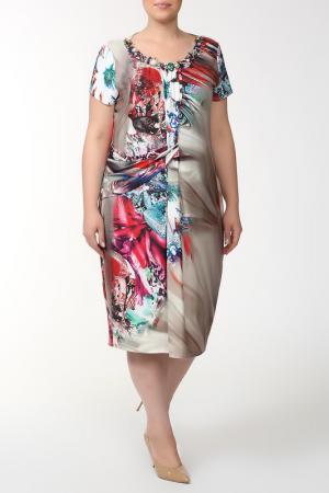 Платье QNEEL Q'NEEL. Цвет: цветной