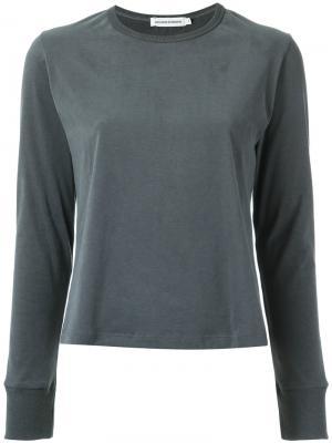 Long sleeves top Giuliana Romanno. Цвет: none