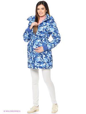 Куртка Герда Mum`s Era. Цвет: темно-синий