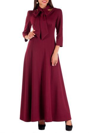 Платье Mannon. Цвет: вишневый