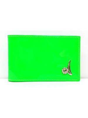 Кредитница PORTE. Цвет: зеленый