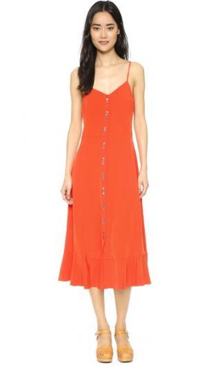 Платье Natalie Million Elle Sasson. Цвет: оранжевый