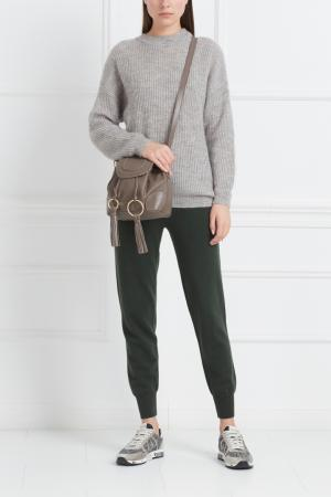 Однотонные брюки Mixer. Цвет: зеленый