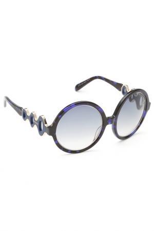 Солнцезащитные очки Emilio Pucci. Цвет: 55w