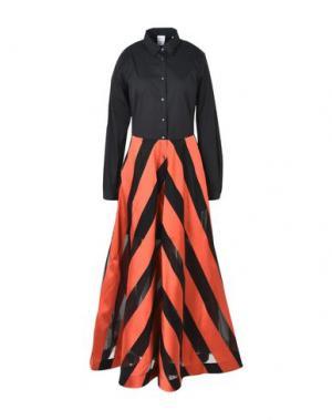 Длинное платье SARA ROKA. Цвет: черный