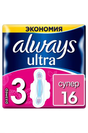 Прокладки Ultra Super, 16 шт ALWAYS. Цвет: none