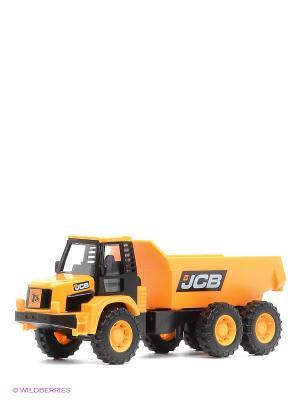 Машинка JCB из серии Стройка Самосвал HTI. Цвет: желтый