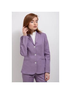 Пиджак LINO RUSSO. Цвет: бледно-розовый, серый