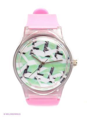 Часы Kawaii Factory. Цвет: бледно-розовый