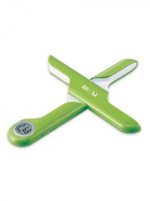 Весы бытовые кухонные электронные, пластиковые, салатовые ВЕСЫ.. Цвет: салатовый