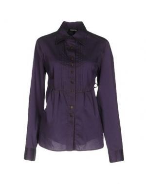 Pубашка EMISPHERE. Цвет: фиолетовый