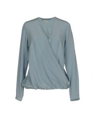 Блузка GUGLIELMINOTTI. Цвет: небесно-голубой