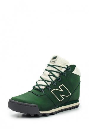 Ботинки New Balance. Цвет: зеленый