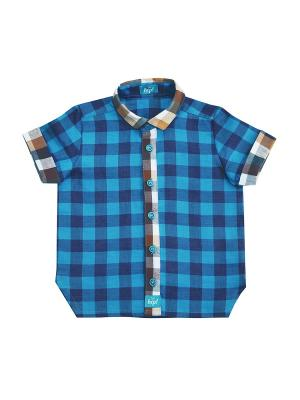 Рубашка The hip!. Цвет: синий