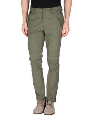 Повседневные брюки AIMO RICHLY. Цвет: зеленый-милитари