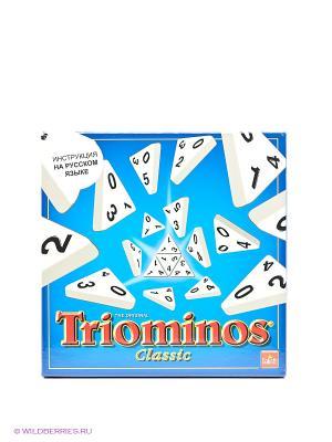 Настольная игра Triominos classic GOLIATH. Цвет: голубой, белый