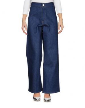 Джинсовые брюки ROSEANNA. Цвет: синий