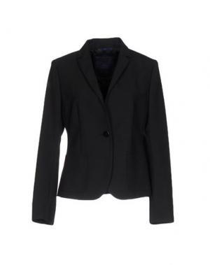Пиджак BLUE LES COPAINS. Цвет: черный