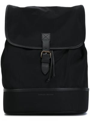 Квадртаный рюкзак Tomas Maier. Цвет: чёрный