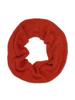 Снуд AnnA Wolf. Цвет: рыжий, оранжевый