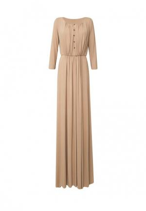 Платье 9AConcept. Цвет: бежевый